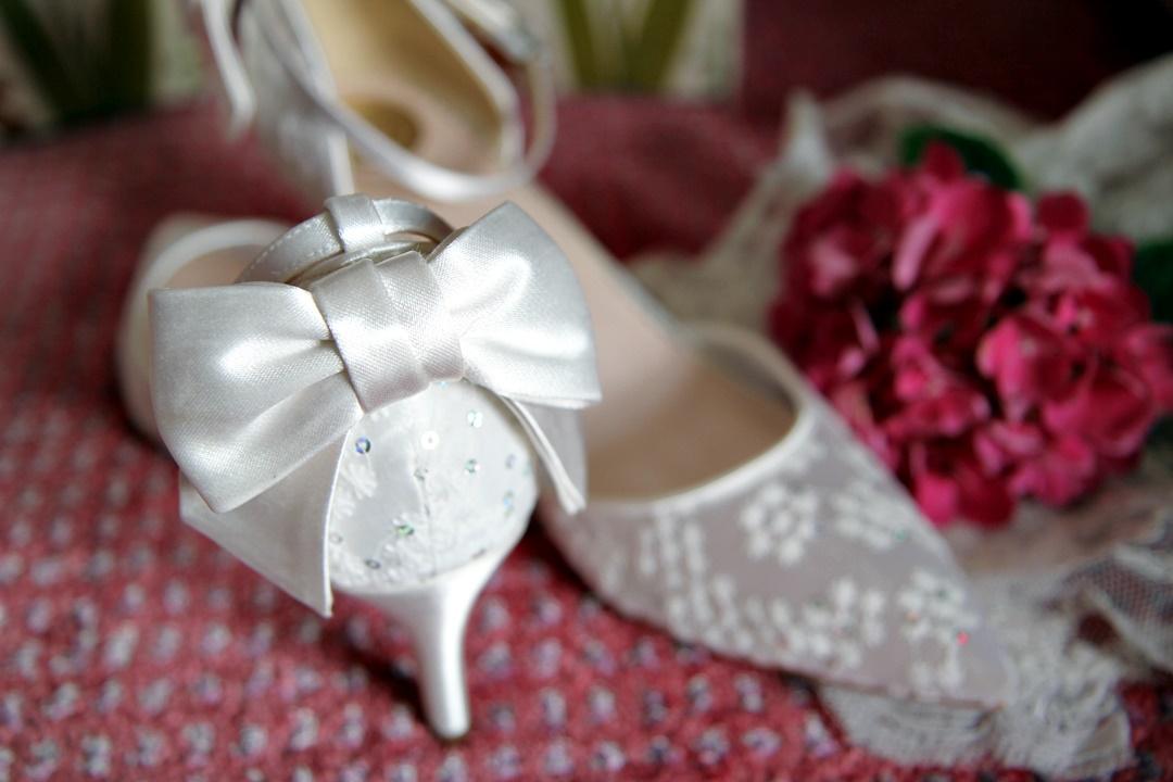 Chaussures de mariée - mariage reims