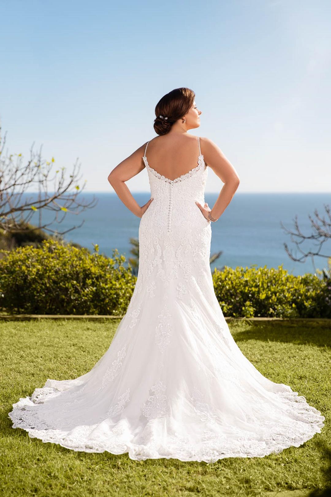 robe de mariée miss emily 21321 dos