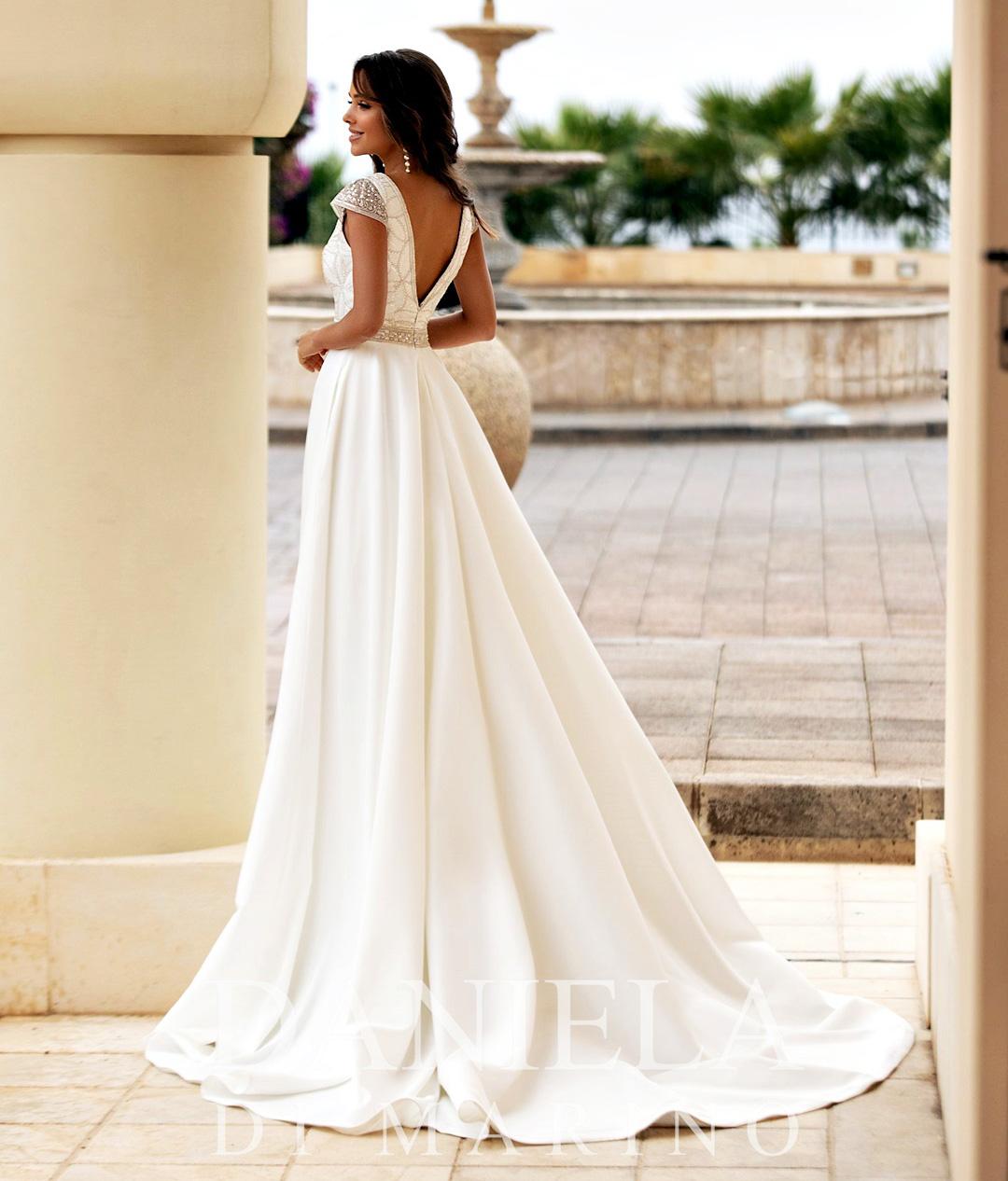Robe de mariée - Sybelle en blanc Reims