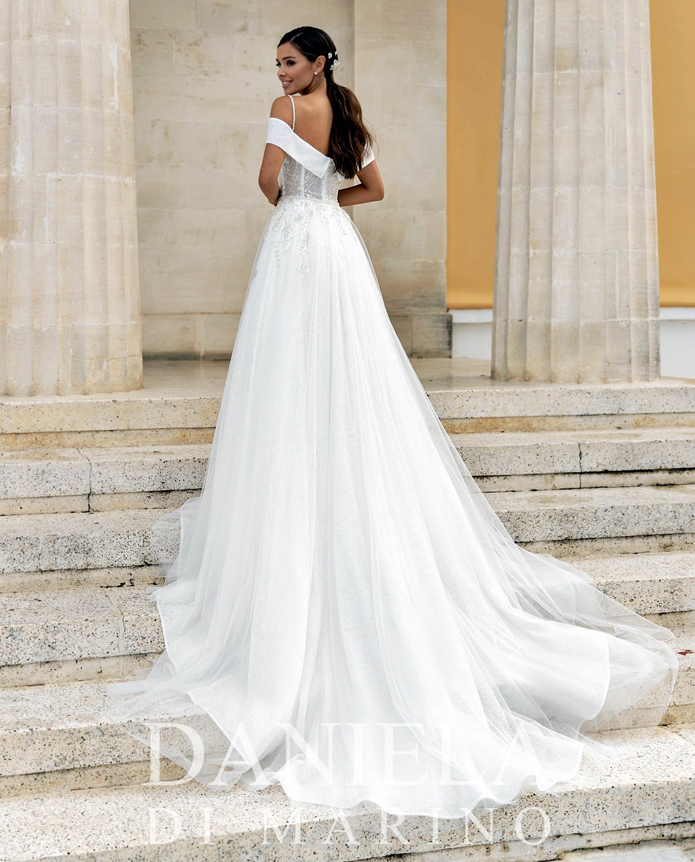 Robe de mairée 6330 - Sybelle en blanc Reims