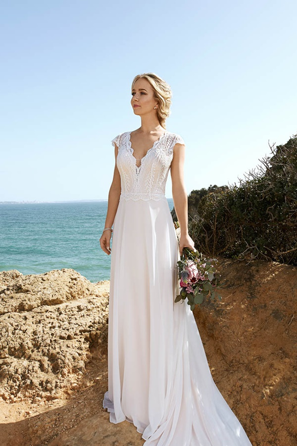 Robe de mariée Brinkman boheme 21413