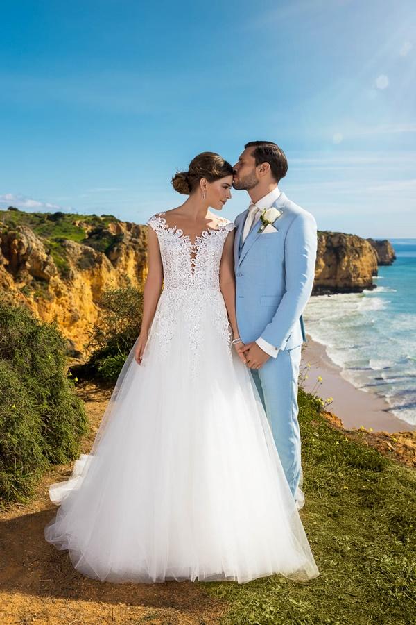 Robe de mariée évasée - Très Chic 21248
