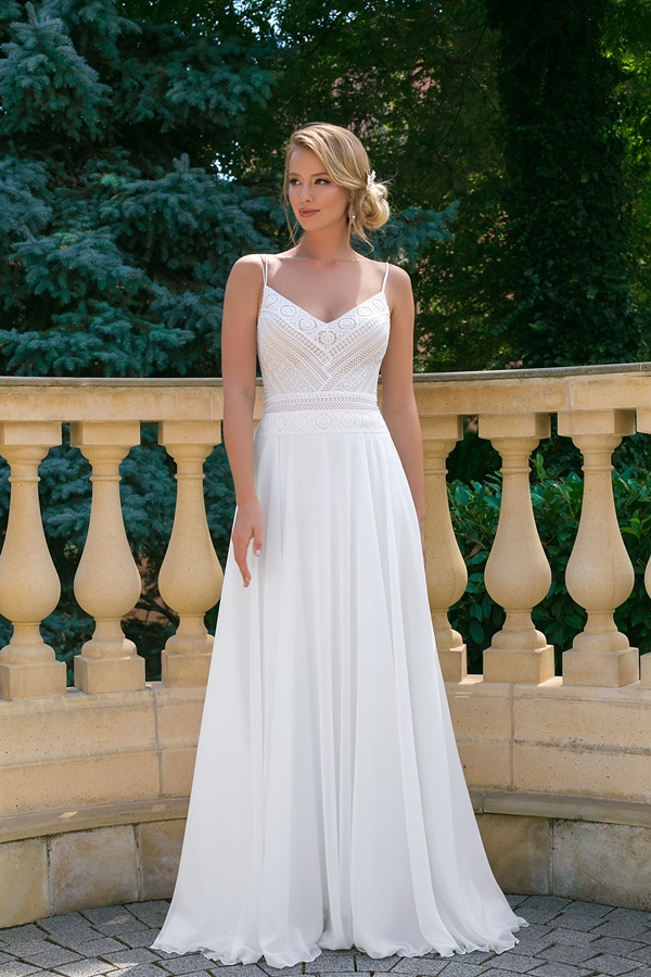 Robe de mariée Angela Bianca boheme 1016
