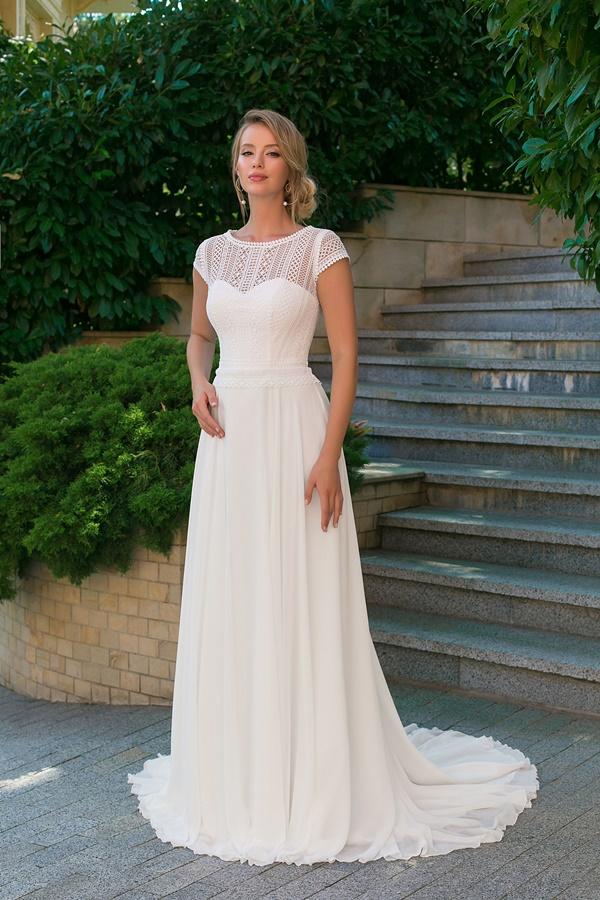 Robe de mariée Angela Bianca boheme 1026